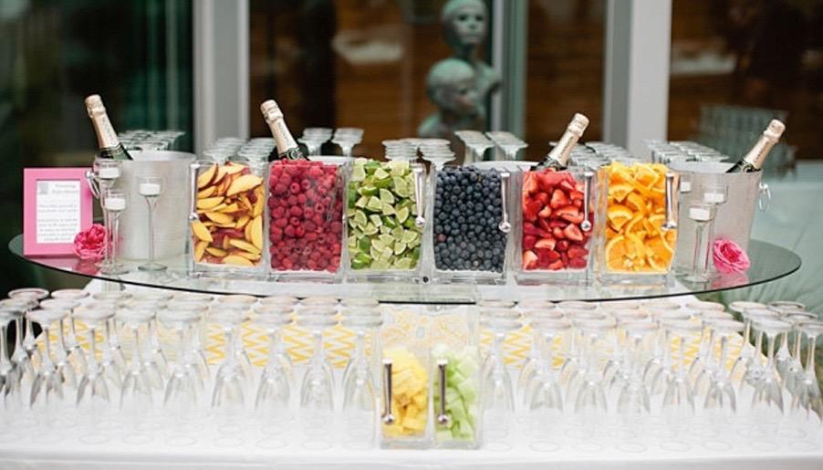 bubbly bar bubbly bar photo via after yes weddings