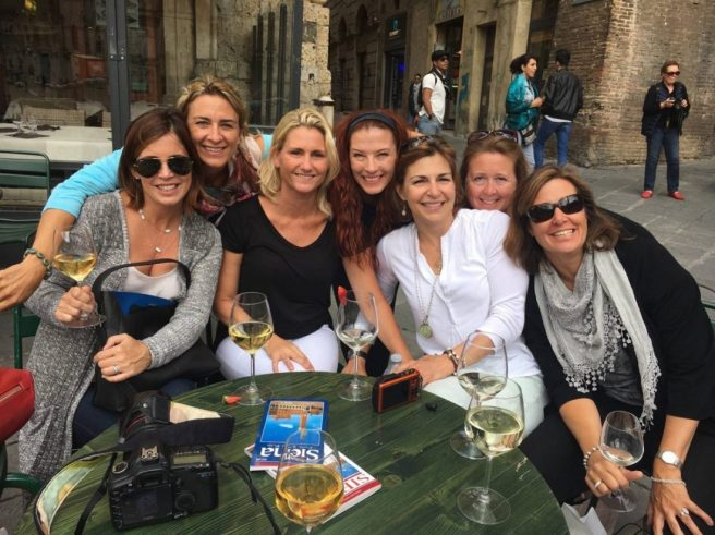 Shopping Break in Siena