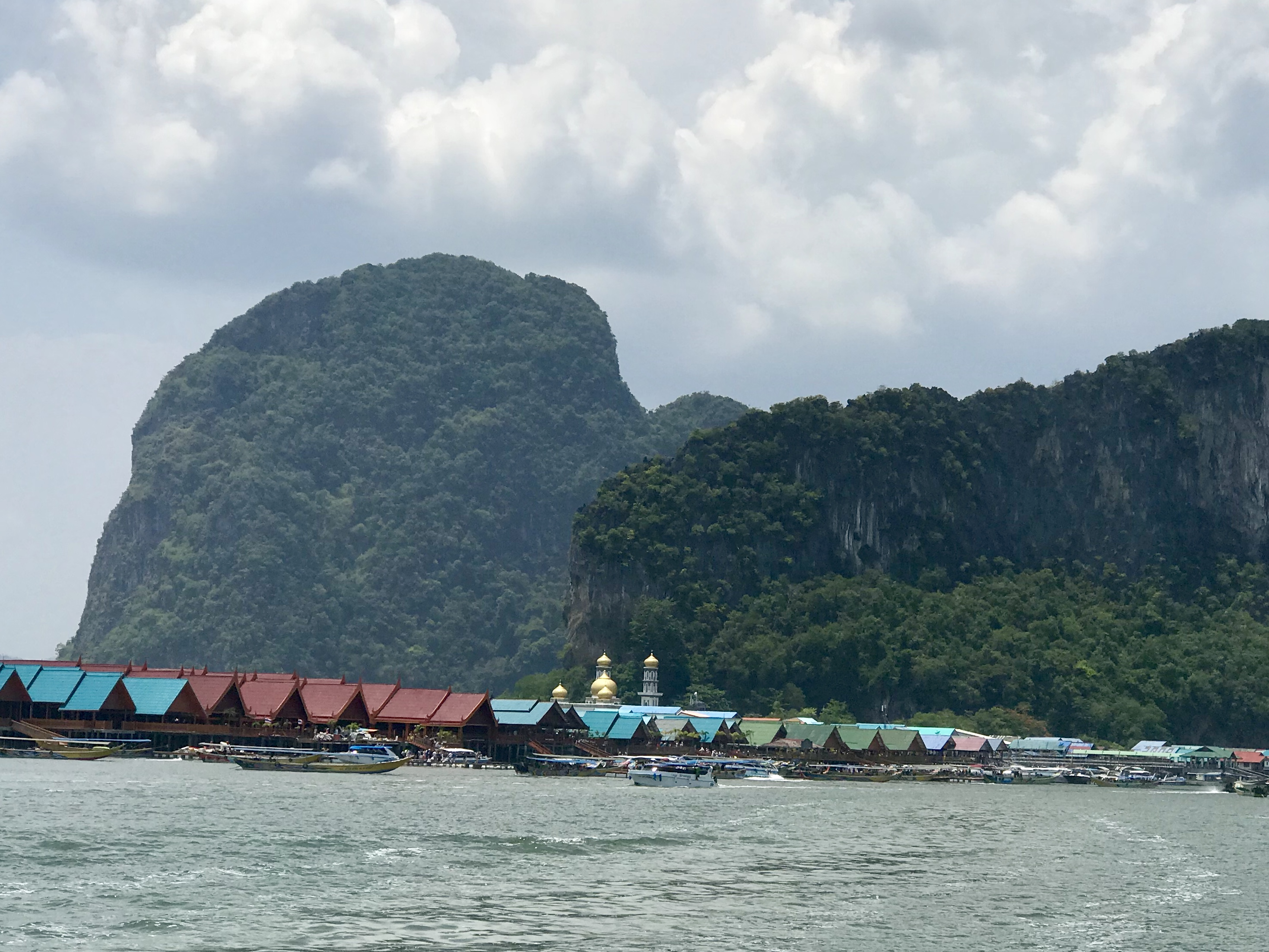 Floating Sea Gypsy Village