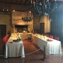Banquet room, Chateau Langeais