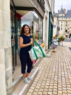 Shopping in Langeais @jamiewisewerner