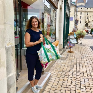 Shopping in Langeais @jamiewisewerner