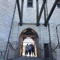 Draw Bridge, Chateau Langeais