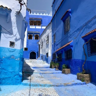 50 Shades of Blue, Chefchaouen, Morocco