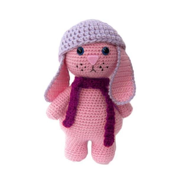 Crochet bunny amigurumi pattern | Amiguroom Toys | 640x640