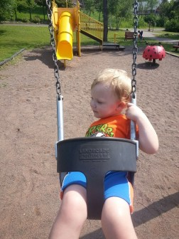 Loves those swings
