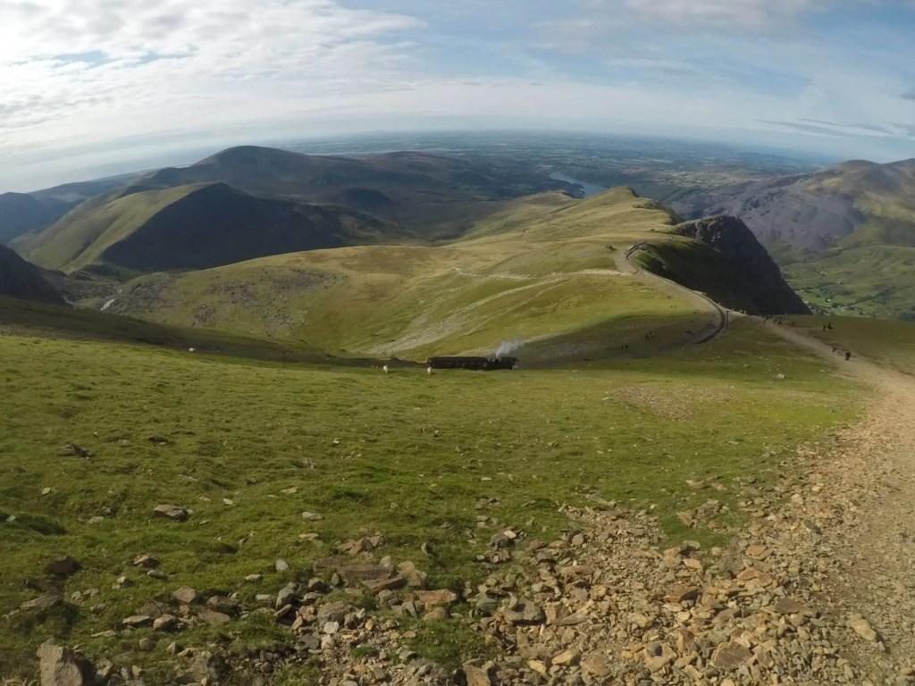 Views from Llanberis Path