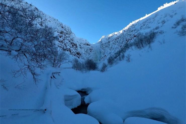 Njupeskär Waterfall