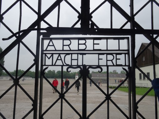 Dachau Concentration Camp: Main Gate