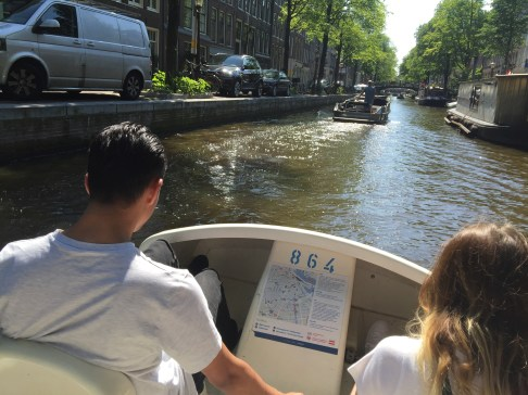 Paddle Boats in Amsterdam