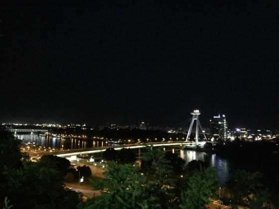 Bratislava: View of UFO tower