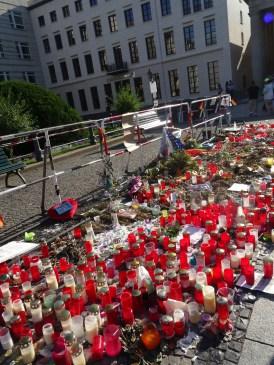 Berlin: Memorial for Orlando Shootings 2016