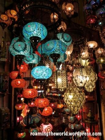 Beautiful Turkish lamps