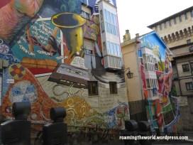 Music and magic art mural, Vitoria-Gasteiz