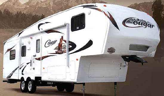 2011 Keystone Cougar Fifth Wheel