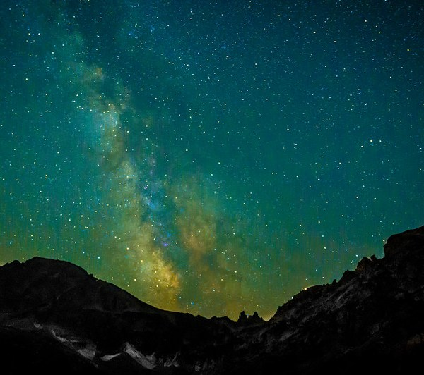 Milky Way Over Indian Peaks