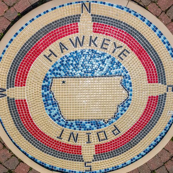 Hawkeye Point Iowa High Point