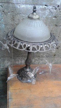 Hummingbirds Lamp
