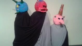 Three Punkin Head Amigos