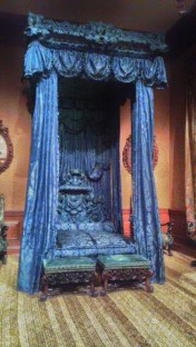 Royal Blue Bed