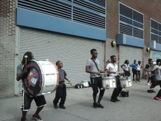 Athletic Musicians and Dancers in Harlem