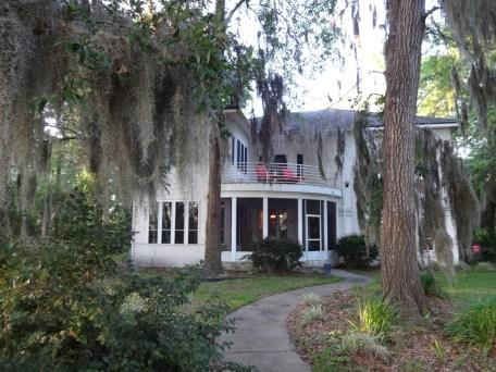 Mike's beautiful house in Brunswick.