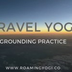 travel yoga for small spaces