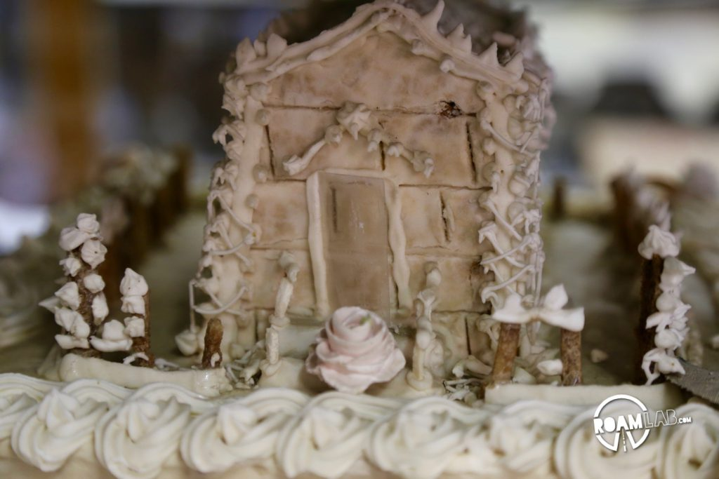 This cake is not only intensely intricate, it is also over a century old.