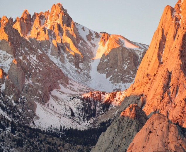 Sunrise on the Sierras
