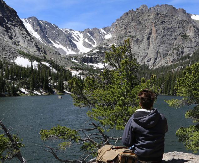 Hiking Andrews Glacier Trail and other Bear Lake Corridor Trails in Rocky Mountain National Park