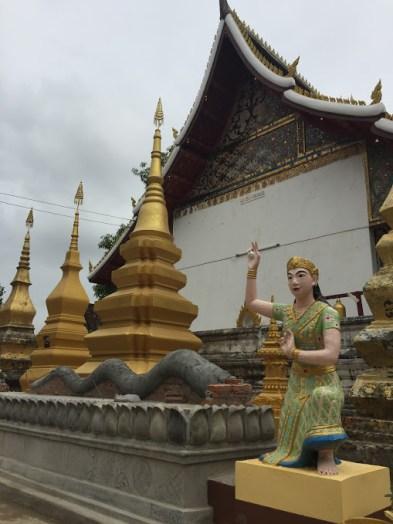 Inside Wat Tao Hai.
