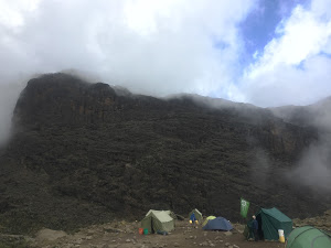 Barranco Wall from camp