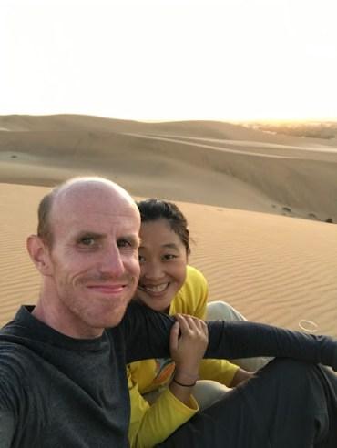 Who knew dunes were so romantic?