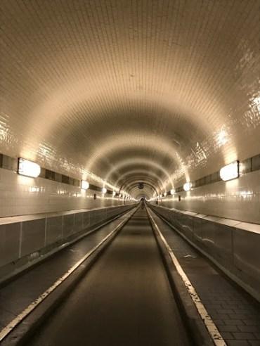 Elbe Tunnel.