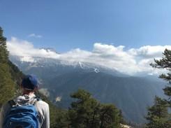 Matt and the Dolomites.