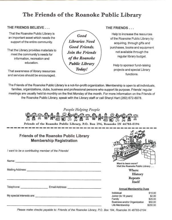 FOL membership form 001