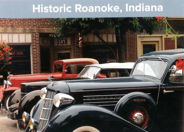 A historic Roanoke Indiana car show photo