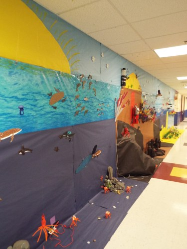 Making the Ocean: an Immersive Experience for Fifth Graders