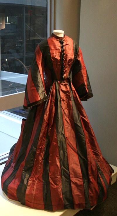 1858 Wedding Dress with pagoda-like sleeves