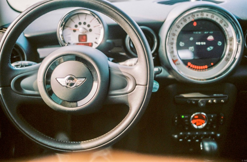 Interior of Mini Cooper Diesel 2014 model