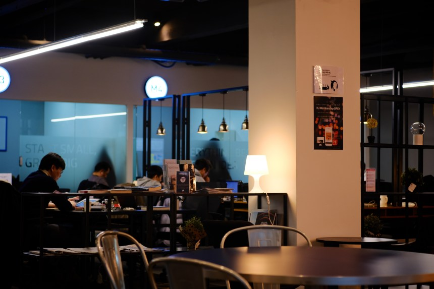 Co-Working space is getting popular in Korea. New Nomads