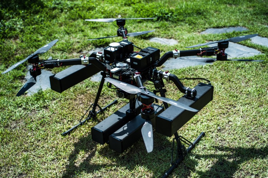 Drone Catcher Drone from BA SOLUTIONS