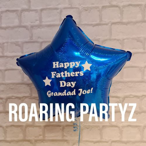 Personalised Father's Day balloon