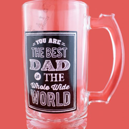 Best Dad in the whole world tankard