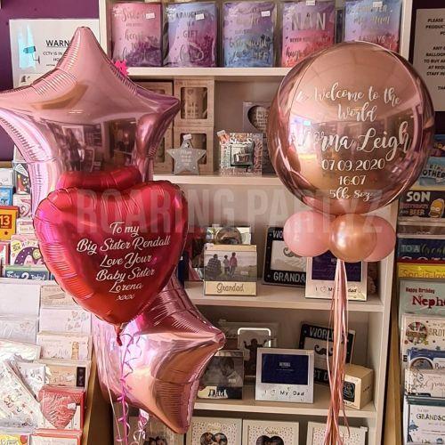 3 Foil Balloon Cluster