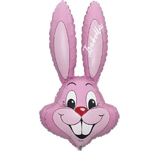 32 inch Easter Bunny Head Balloon