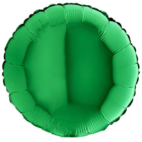 18 Inch Green Round Balloon