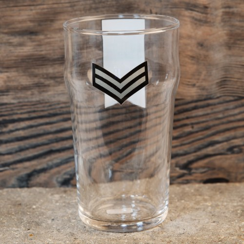 Military Heritage Beer Glass – Dad