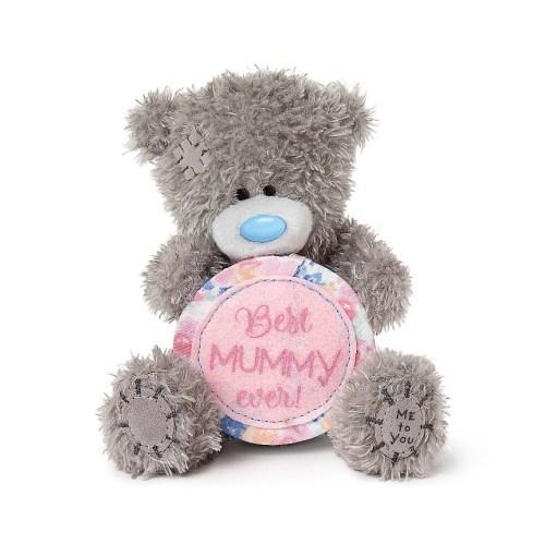 Best Mummy Ever Tatty Teddy Bear