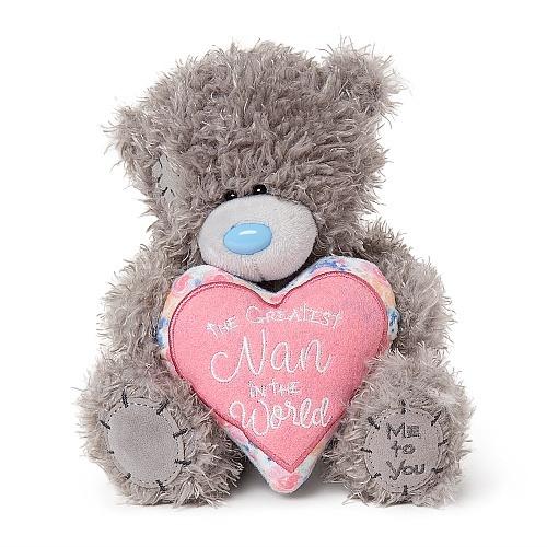 7″ Padded Greatest Nan Heart Me to You Bear
